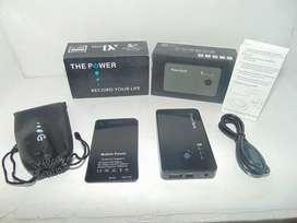Spy cam Powerbank HD 720p. 3000Mah. Sensor gerak