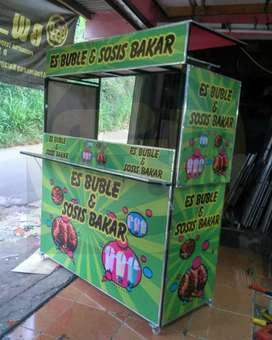 booth portable sistim knockdown bongkar pasang