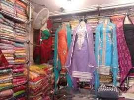 Urgent for rent Running business (ladies garment & dress material)