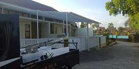 Canopy pagar baja ringan pintu gerbang