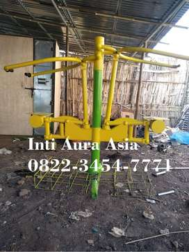 Lat Pull Down Two Seat Alat Fitness Outdoor