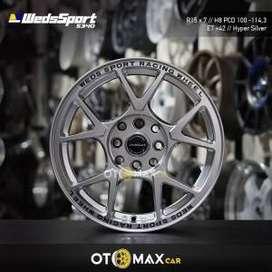 Velg Mobil WedsSport (5340) Ring 15 Hyper Silver