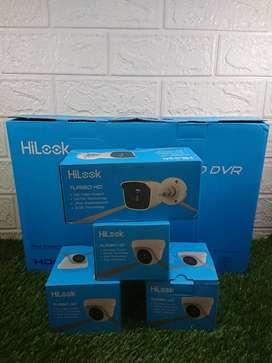CCTV HiLook Turbo HD 2mp plus pemasangan PROMO