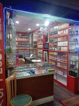 An ayurveda shop
