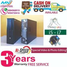 @computer#warranty+cpu>4gb ram>HDD 500gb<2gb graphic<HP i5 4th gen#dvd