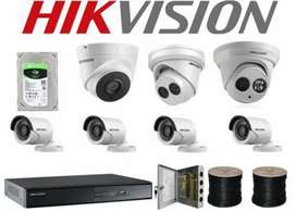 2MP Camera 4 Channel DVR 500GB Hard Total Package 24500
