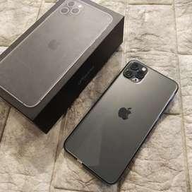 Iphone 11 Pro Max 64GB Green Fulset Segel Mulus