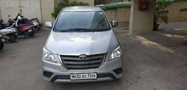 Toyota Innova 2.5 GX 7 STR BS-IV, 2014, Diesel