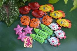 Ready stock ikan plastik || Wahana mainan anak