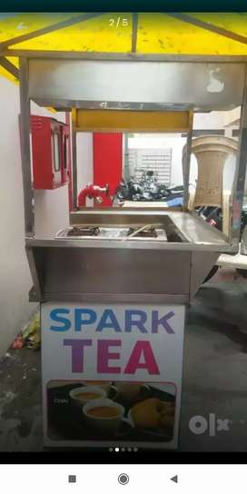 Tea stall fully conditioned no dameges