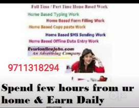 Online promotion work at home based business