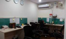 1 cabin + 10 sitting fully furnished office space for rent in noida