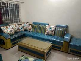 LUXURY CORNER SOFA SET IN YOUR BUDGET WITH SM FURNITURE