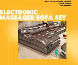 Electronic massager sofa set