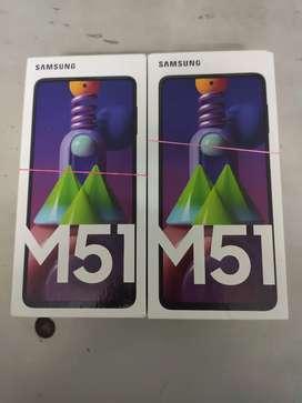 Samsung M51 6gb128gb 7000mah 64mp