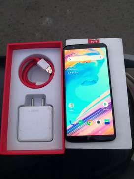 One plus 5T 6GB RAM 64GB INBUILT