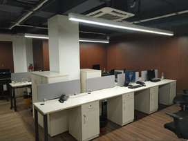 Ready to occupy private cabin & co-working office space for rent