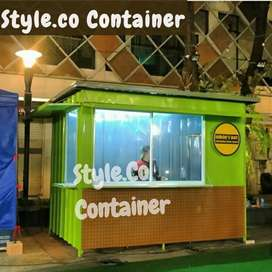 BIG PROMO AWAL TAHUN | BOOTH SEMI CONTAINER | CONTAINER FRENCHISE |