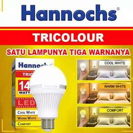 Lampu LED Tiga Warna  Hannochs Tricolour LED 14 Watt
