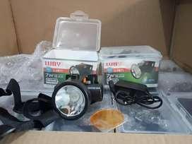 LAMPU SENTER KEPALA-LUBY LED L 2871 L2871-CAS ULANG-KUALITAS OKE