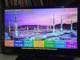 Jam Masjid TV Led DKI Kota Bogor
