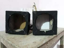 Two Empty 8 inches Sound Boxes