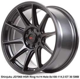 type model SHINJUKU JD7060 HSR R16X7/8 H8X100-114,3 ET35/30 SMB