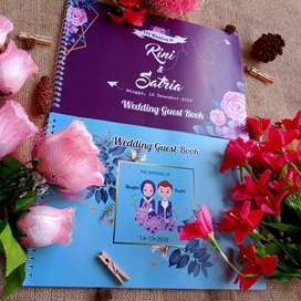 undangan pernikahan dan buku tamu murah