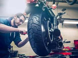 Bike mechanic requirements urgently in nayapalli, Bhubaneswar