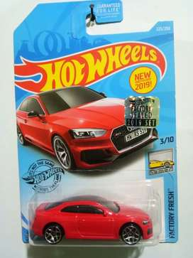 SIIPPP Diecast Hotwheels Audi RS 5 Coupe Merah