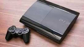 Ps3 with 10 games in harddisk 1 originar remote