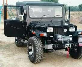 Black stylish jeep