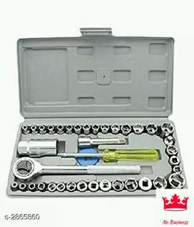 Wired tool kit & screwdriver and socket set