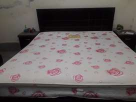 Brand new double bed.