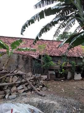 Dijual rumah kampung pinggir Jalan, bebas banjir,