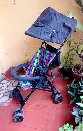 LuvLap Tutti Frutti Baby Stroller ( Pram)