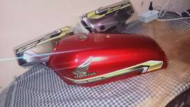 CG 125 SPECIAL EDITION TANKI TAPPY 2021 RED