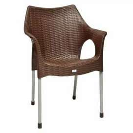 Steel chrome pipe plastic chairs