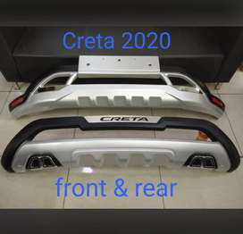 Hyundai creta 2020 front and rear Diffuser