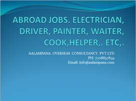 NURSE, HELPER, WAITER, COOK, ELECTRICIAN, WELDER, ETC