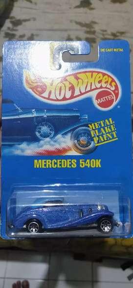 Hot wheels jadul mercedes 540k