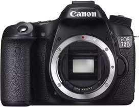 Canon EOS 70D WIFI BODY ONLY Resmi Tanpa CC