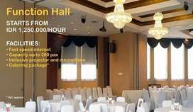 Function Hall cocok untuk Corporate Events/Wedding/Private Events