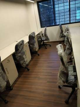 dedicated 6 seater cabin for office space with all amenity