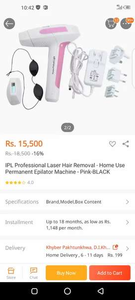 Laser hair remover Permanent