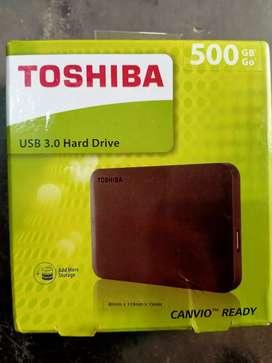 Tishiba externa 500gb hard disk