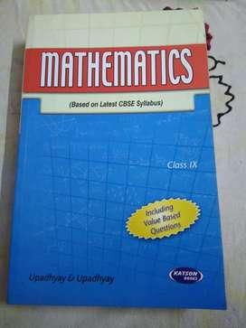 Mathematics Book Class 9th CBSE