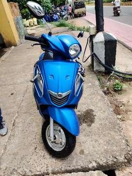 Yamaha Fascino Matt blue