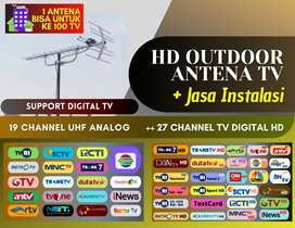 digital antena tv outdoor & teknisi