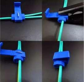 Konektor klem kabel (Terminal kabel, sambung kabel, quick konektor)